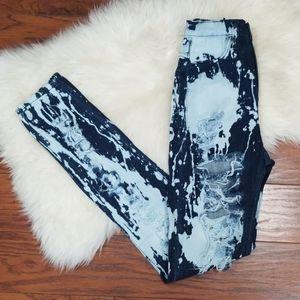 Aphrodite Distressed Highwaisted Skinny Jeans